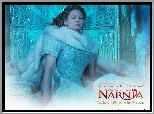 The Chronicles Of Narnia, Tilda Swinton, siedzi, futro, brzydka