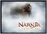 The Chronicles Of Narnia, zima, las, latarnia, napis