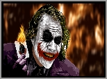 Grafika, Film, Batman Dark Knight, Mroczny rycerz, Joker