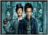 Film, Sherlock Holmes, Jude Law, Robert Downey Jr.