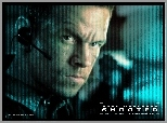 Shooter, Mark Wahlberg, twarz, mikrofon