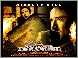 National Treasure 1, Nicolas Cage, obrazy, stare, pismo