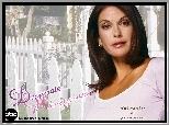 Desperate Housewives, Teri Hatcher, płot, napis