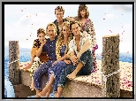 Film, Mamma Mia Here We Go Again, Aktorka, Lily James, Aktor, Jeremy Irvine