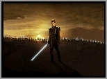 Hayden Christensen, Star Wars, laser