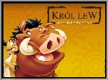 Król Lew, The Lion King, Timon, Pumba