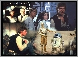 Star Wars, Mark Hamill, robot, postacie
