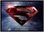 Superman Returns, logo, znak, niebo