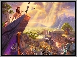 Thomas Kinkade, Disney, Król Lew, The Lion King