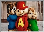 Alvin i wiewiórki, Alvin and the Chipmunks, Trzy, Wiewiórki