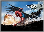 Film, Spider-Man : Homecoming, Iron Man, Spider-Man, Vulture