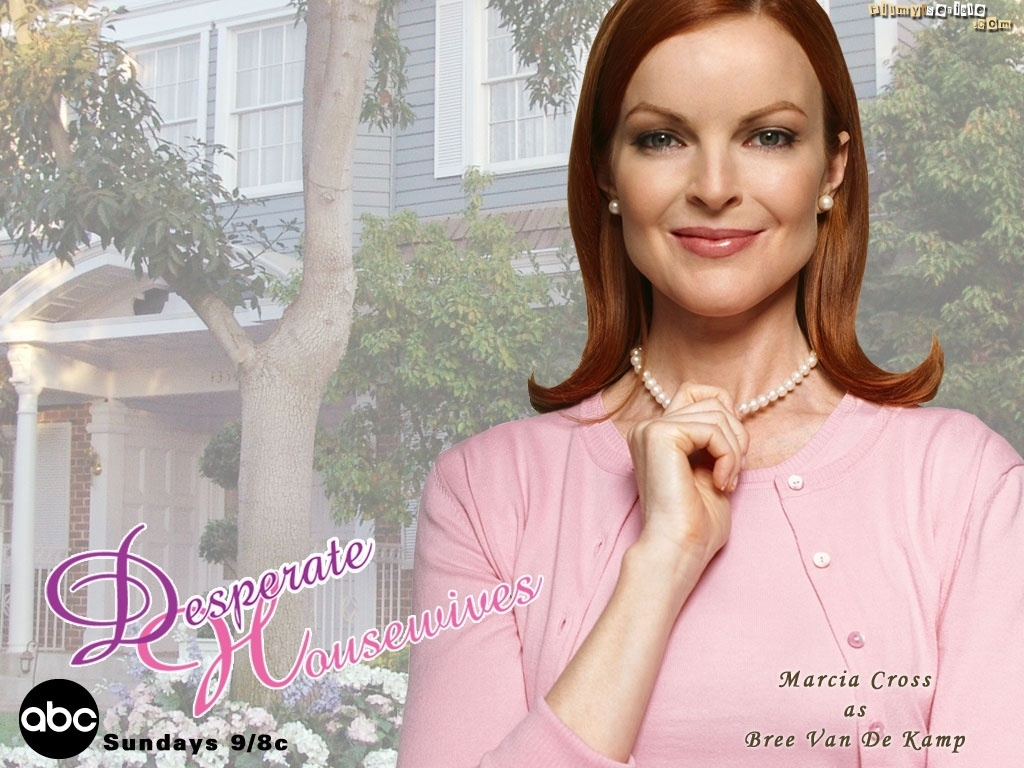 Desperate Housewives, Marcia Cross, korale, dom