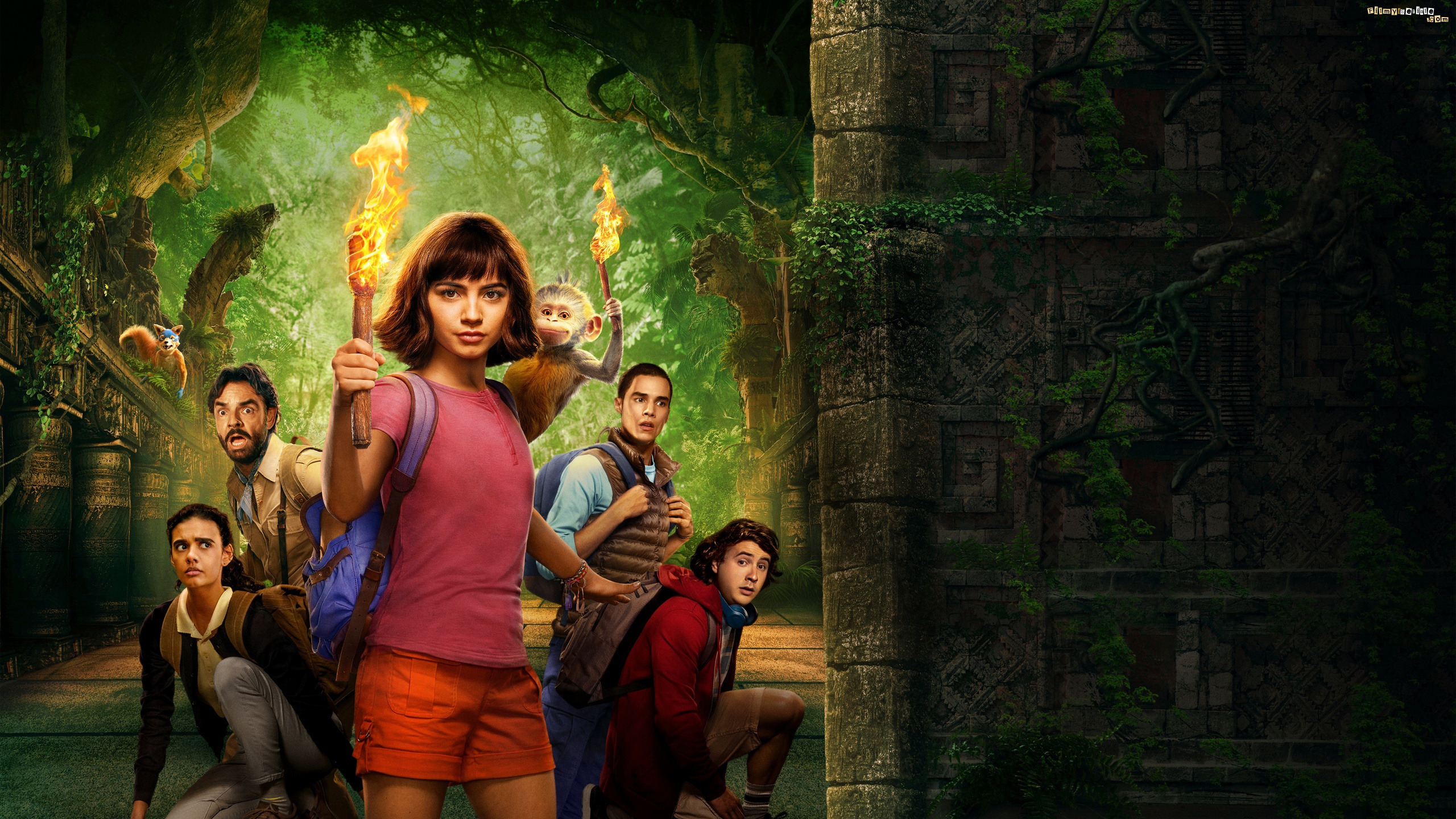 Film, Dora i Miasto Złota, Dora and the Lost City of Gold, Isabela Moner, Aktorka
