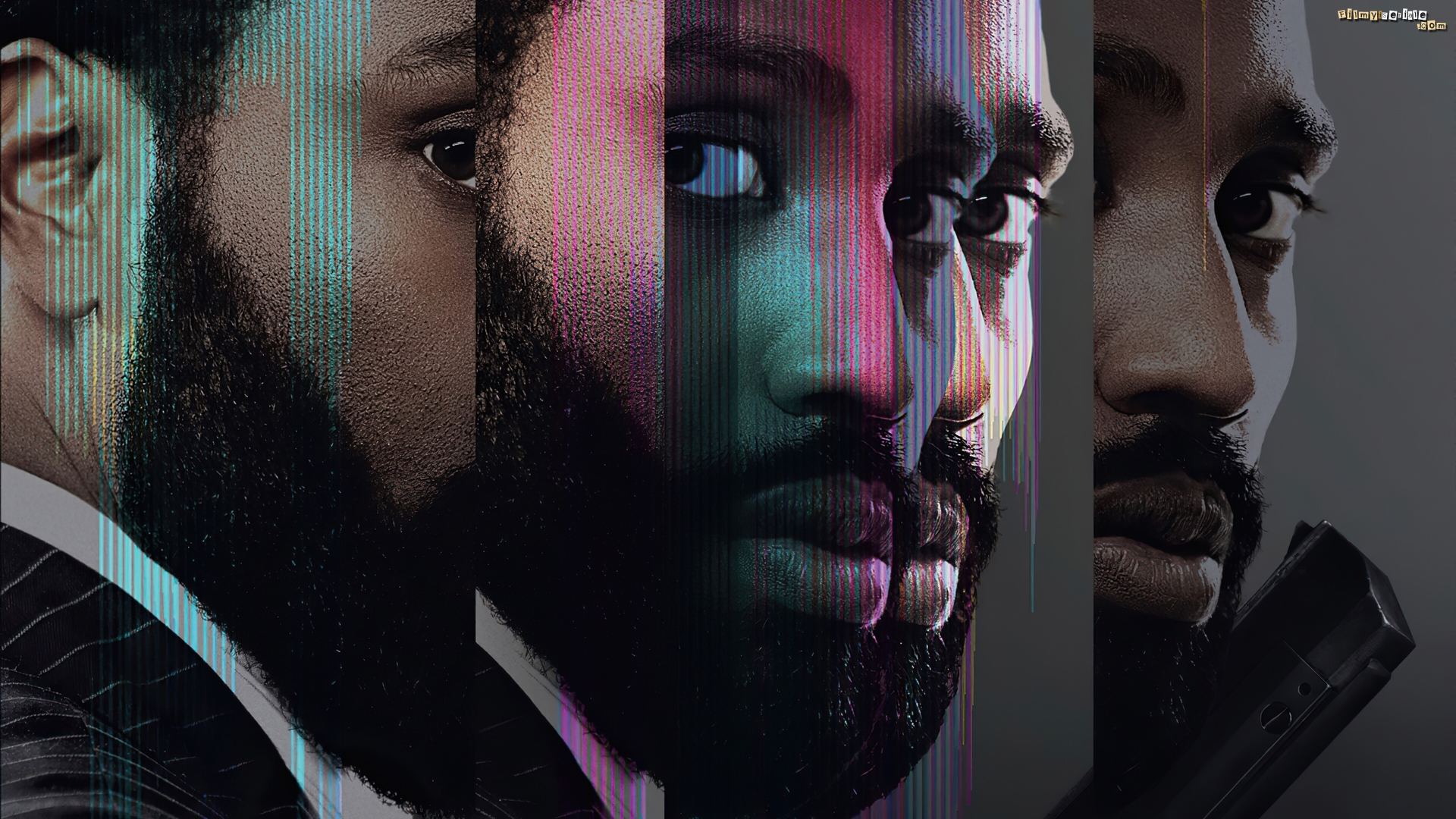 Film, Tenet, Aktor, John David Washington, Plakat